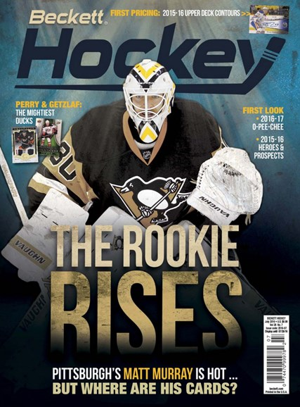 Beckett Hockey Cover - 7/1/2016