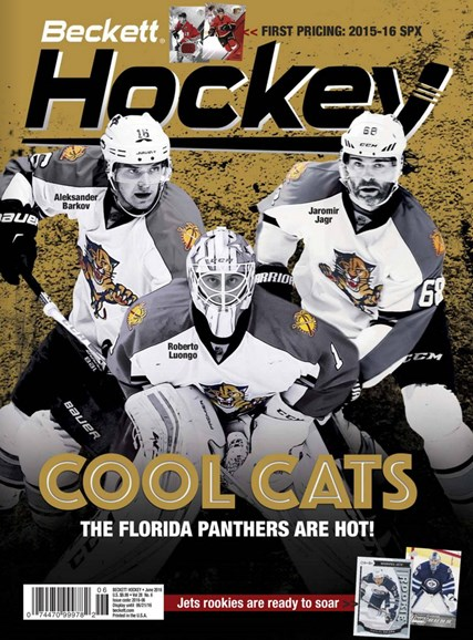 Beckett Hockey Cover - 6/1/2016