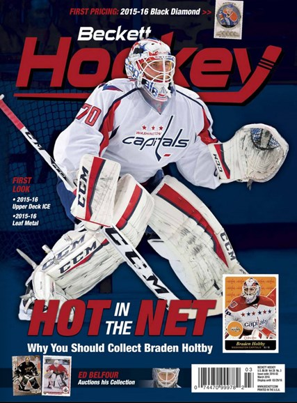 Beckett Hockey Cover - 3/1/2016