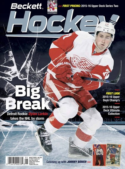Beckett Hockey Cover - 5/1/2016