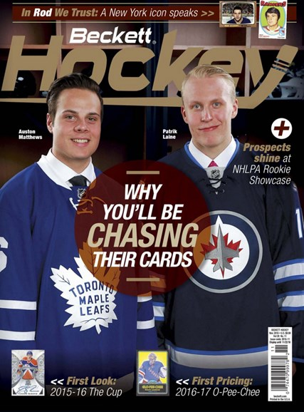 Beckett Hockey Cover - 11/1/2016
