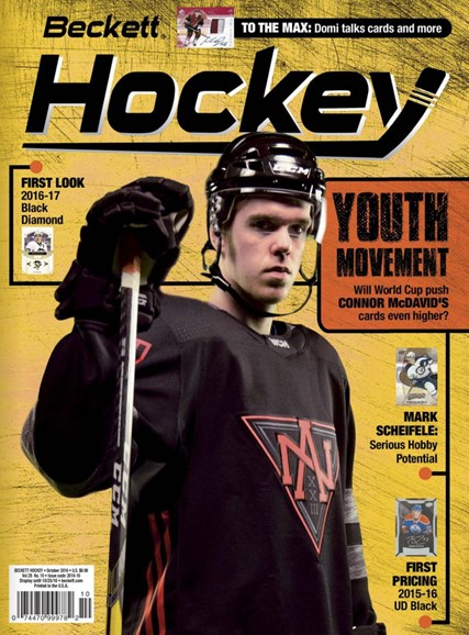 Beckett Hockey Cover - 10/1/2016