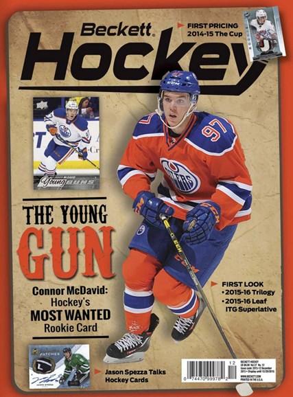 Beckett Hockey Cover - 12/1/2015