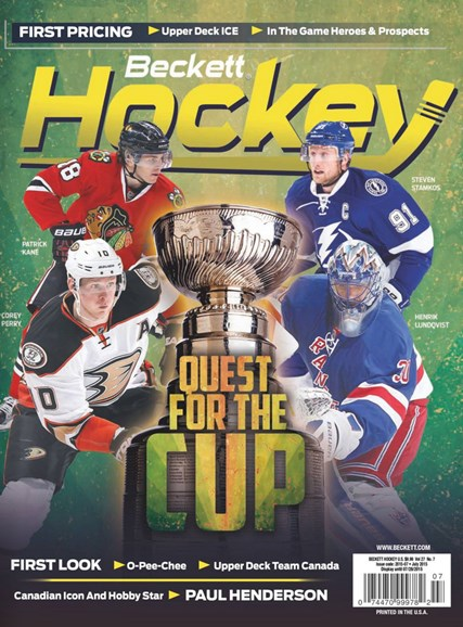 Beckett Hockey Cover - 7/1/2015