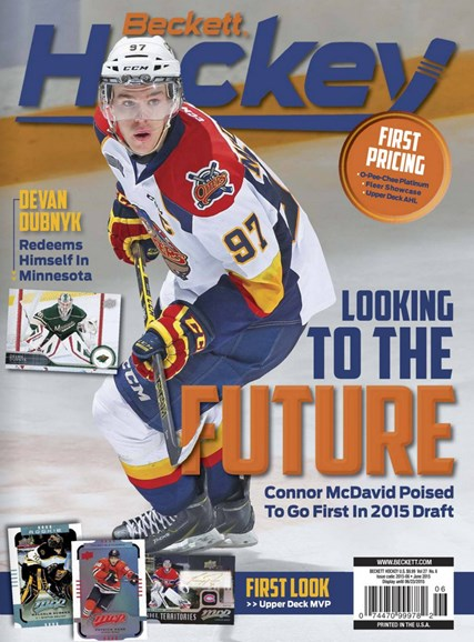 Beckett Hockey Cover - 6/1/2015