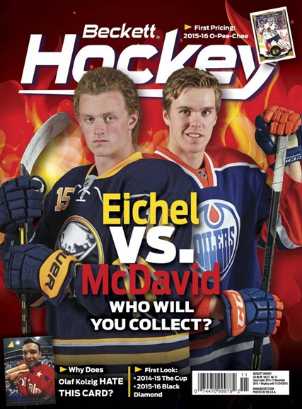 Beckett Hockey Cover - 11/1/2015