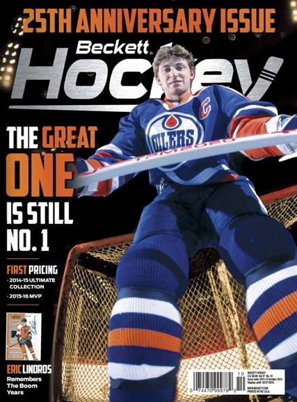 Beckett Hockey Cover - 10/1/2015