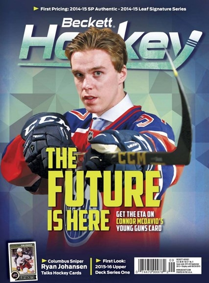 Beckett Hockey Cover - 9/1/2015
