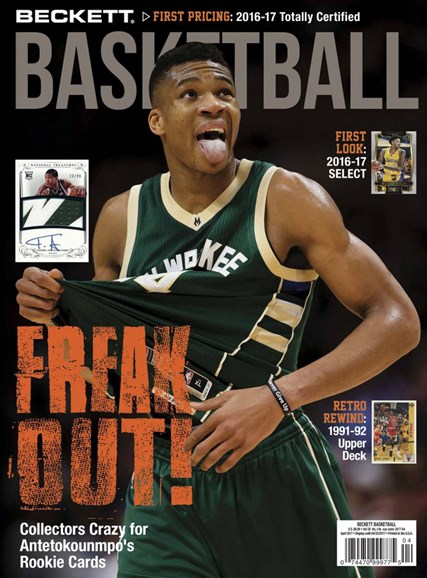 Beckett Basketball Cover - 4/1/2017