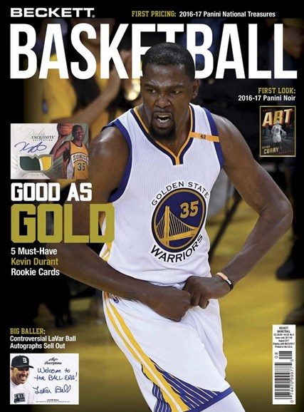Beckett Basketball Cover - 8/1/2017