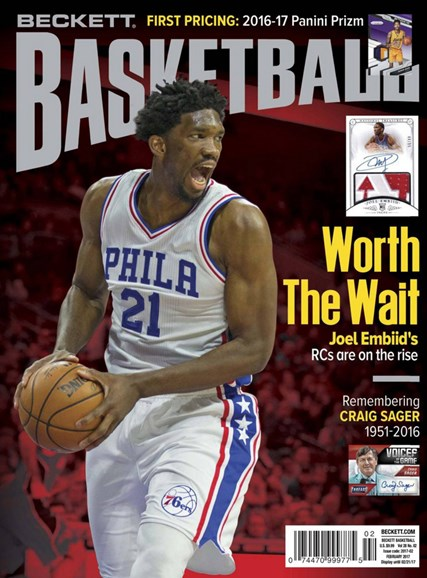 Beckett Basketball Cover - 2/1/2017