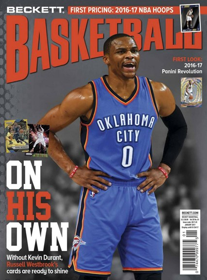 Beckett Basketball Cover - 1/1/2017