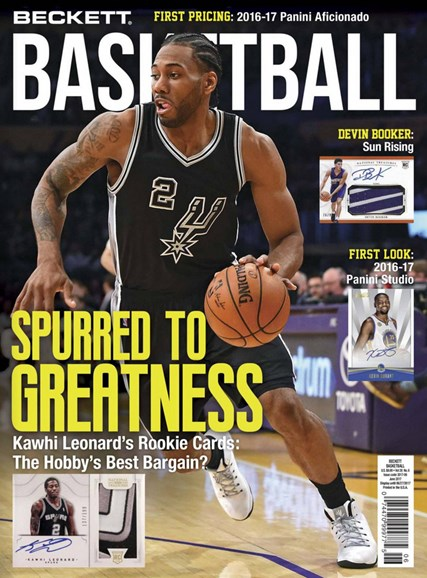 Beckett Basketball Cover - 6/1/2017