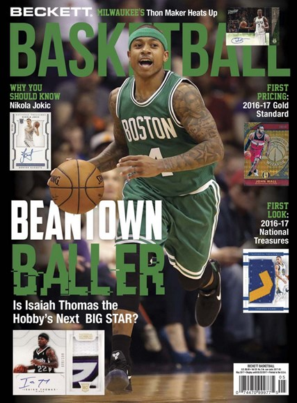 Beckett Basketball Cover - 5/1/2017