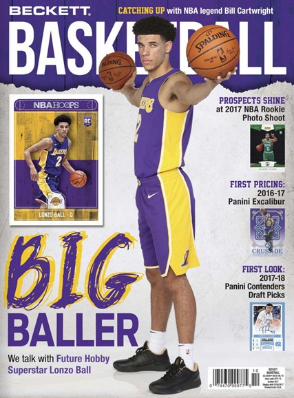 Beckett Basketball Cover - 10/1/2017
