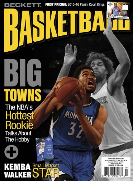Beckett Basketball Cover - 4/1/2016