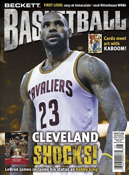 Beckett Basketball Cover - 8/1/2016