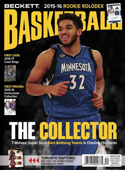 Beckett Basketball Cover - 12/1/2016