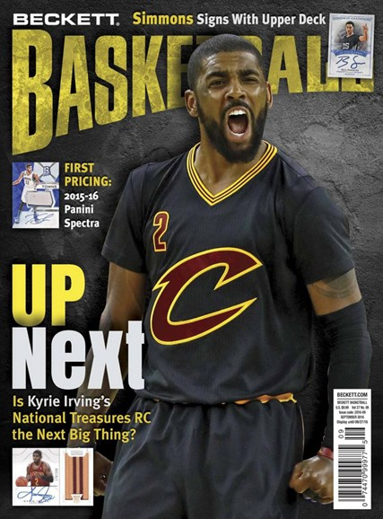 Beckett Basketball Cover - 9/1/2016