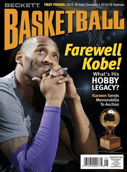 Beckett Basketball Cover - 5/1/2016
