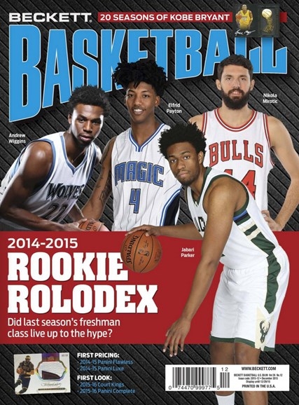 Beckett Basketball Cover - 12/1/2015
