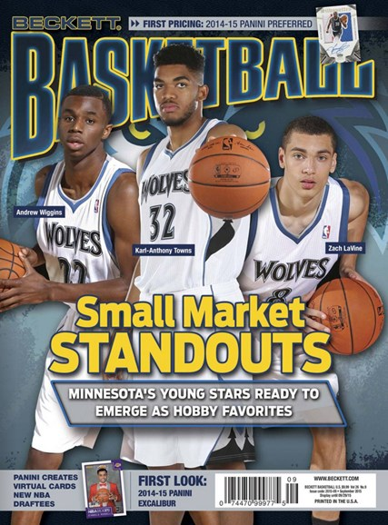Beckett Basketball Cover - 9/1/2015