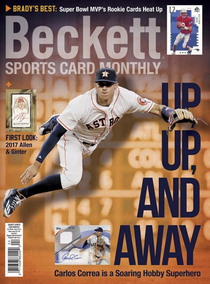 Beckett Sports Card Monthly Cover - 4/1/2017