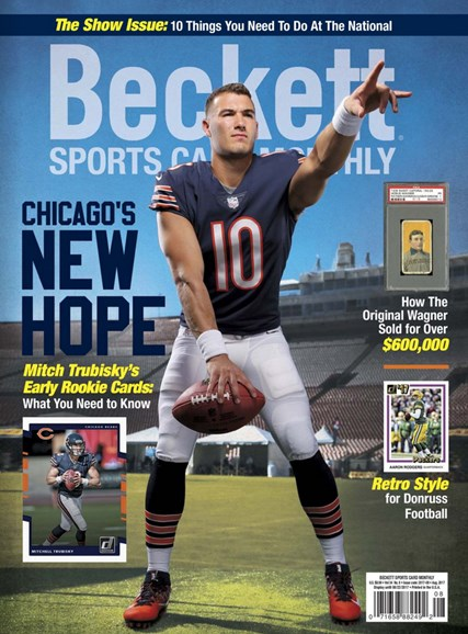 Beckett Sports Card Monthly Cover - 8/1/2017