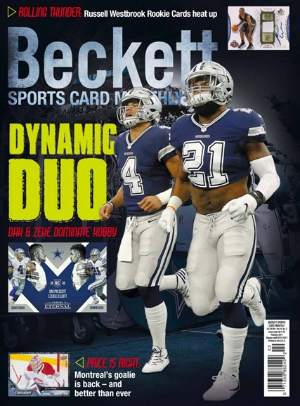 Beckett Sports Card Monthly Cover - 2/1/2017