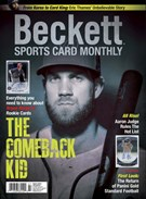 Beckett Sports Card Monthly Magazine 7/1/2017