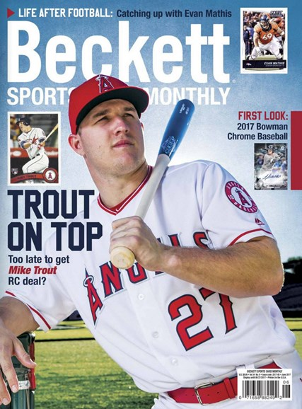 Beckett Sports Card Monthly Cover - 6/1/2017
