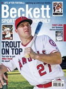 Beckett Sports Card Monthly Magazine 6/1/2017