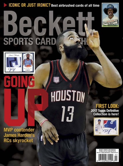 Beckett Sports Card Monthly Cover - 3/1/2017