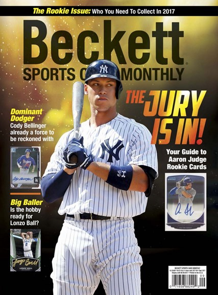 Beckett Sports Card Monthly Cover - 9/1/2017