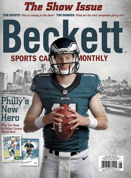 Beckett Sports Card Monthly Cover - 8/1/2016
