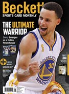 Beckett Sports Card Monthly Magazine 1/1/2016