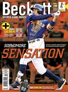 Beckett Sports Card Monthly Magazine 5/1/2016