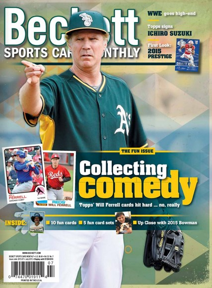Beckett Sports Card Monthly Cover - 7/1/2015