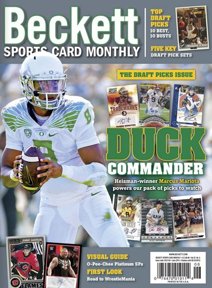 Beckett Sports Card Monthly Cover - 6/1/2015