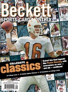 Beckett Sports Card Monthly Magazine 9/1/2015