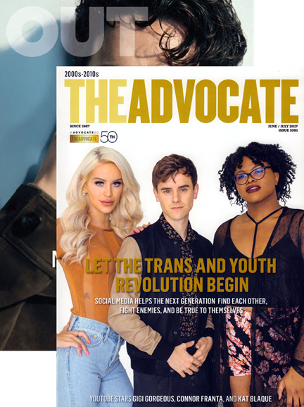 Out & The Advocate Edition Cover - 6/1/2017