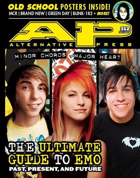 Alternative Press Cover - 11/1/2017