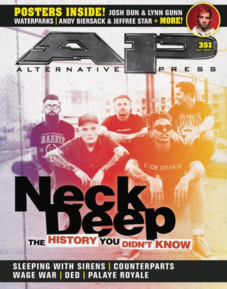Alternative Press Cover - 10/1/2017