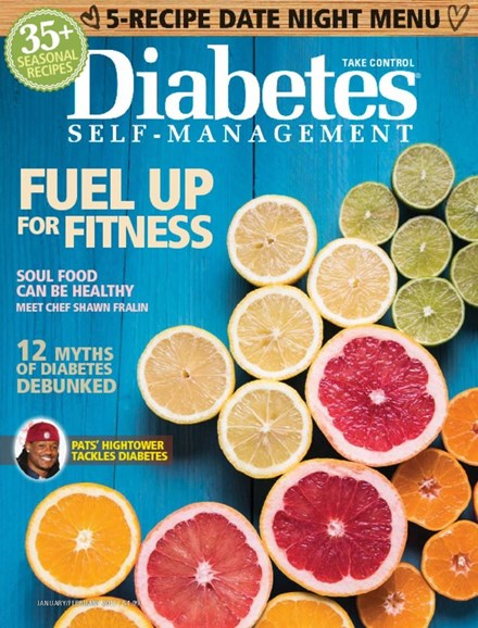 Diabetes Self-Management Cover - 1/1/2017
