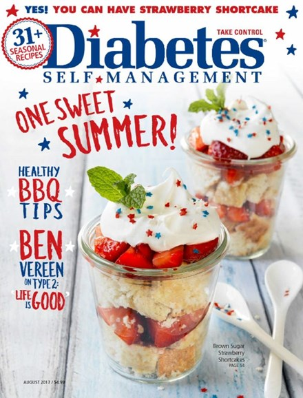 Diabetes Self-Management Cover - 7/1/2017