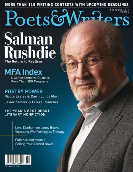 Poets & Writers Cover - 9/1/2017