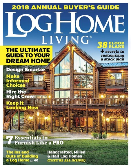 Log and Timber Home Living Cover - 10/1/2017