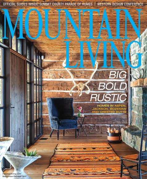 Mountain Living Cover - 9/1/2017