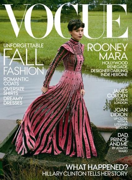 Vogue Cover - 10/1/2017