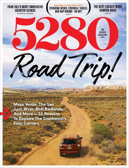 5280 Magazine Cover - 9/1/2017